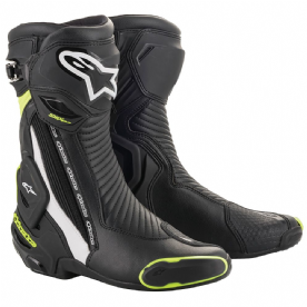Alpinestars SMX Plus v2  Boots Black Fluo yellow